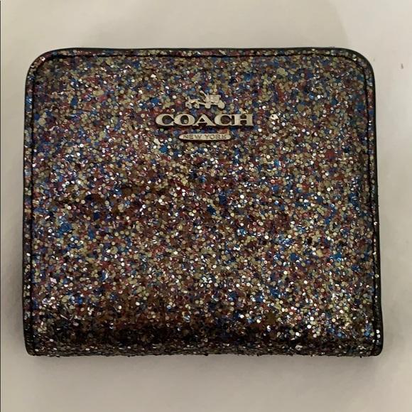 Coach Handbags - Sparkly Coach Wallet